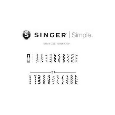 Singer  3221 3